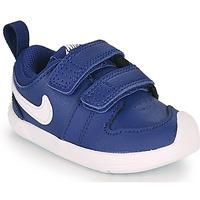 Schuhe Jungen Sneaker Low Nike PICO 5 TD Blau / Weiss