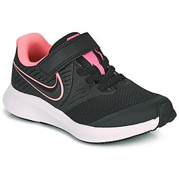 Schuhe Mädchen Multisportschuhe Nike STAR RUNNER 2 PS Schwarz / Rose