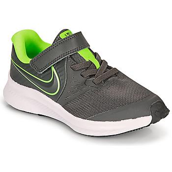 Schuhe Jungen Multisportschuhe Nike STAR RUNNER 2 PS Grau / Grün