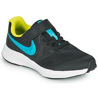 Schuhe Jungen Multisportschuhe Nike STAR RUNNER 2 PS Schwarz / Blau