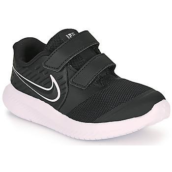 Schuhe Kinder Multisportschuhe Nike STAR RUNNER 2 TD Schwarz / Weiss