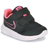 Schuhe Mädchen Multisportschuhe Nike STAR RUNNER 2 TD Schwarz / Rose