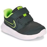 Schuhe Jungen Multisportschuhe Nike STAR RUNNER 2 TD Schwarz / Grün