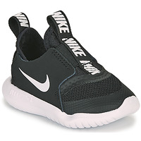Schuhe Kinder Multisportschuhe Nike FLEX RUNNER TD Schwarz / Weiss