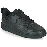 Schuhe Kinder Sneaker Low Nike COURT BOROUGH LOW 2 GS Schwarz