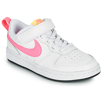 Schuhe Mädchen Sneaker Low Nike COURT BOROUGH LOW 2 PS Weiss / Rose