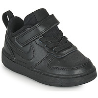 Schuhe Kinder Sneaker Low Nike COURT BOROUGH LOW 2 TD Schwarz