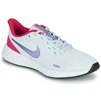Schuhe Mädchen Multisportschuhe Nike REVOLUTION 5 GS Blau / Violett