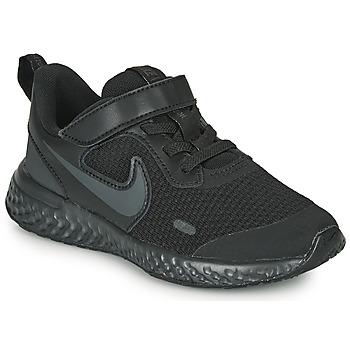 Schuhe Kinder Multisportschuhe Nike REVOLUTION 5 PS Schwarz