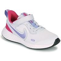 Schuhe Mädchen Multisportschuhe Nike REVOLUTION 5 PS Blau / Violett