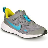 Schuhe Jungen Multisportschuhe Nike REVOLUTION 5 PS Grau / Blau