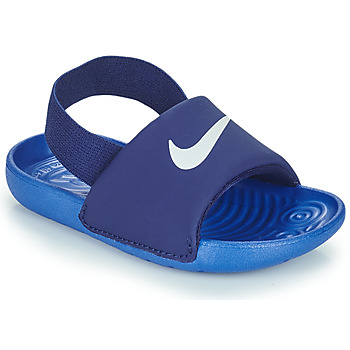 Schuhe Jungen Pantoletten Nike NIKE KAWA TD Blau