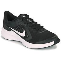 Schuhe Kinder Multisportschuhe Nike DOWNSHIFTER 10 GS Schwarz / Weiss