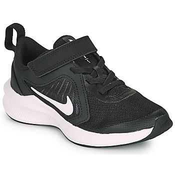 Schuhe Kinder Multisportschuhe Nike DOWNSHIFTER 10 PS Schwarz / Weiss