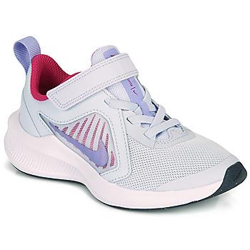 Schuhe Mädchen Multisportschuhe Nike DOWNSHIFTER 10 PS Blau / Violett