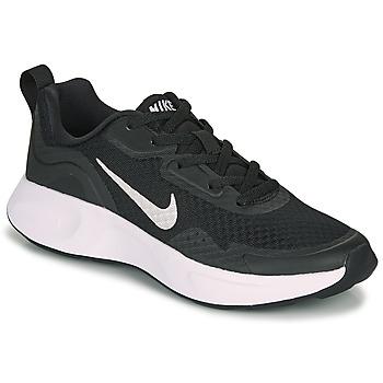 Schuhe Kinder Multisportschuhe Nike WEARALLDAY GS Schwarz / Weiss