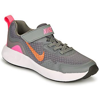 Schuhe Mädchen Multisportschuhe Nike WEARALLDAY PS Grau / Rose