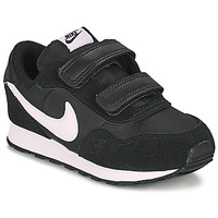 Schuhe Kinder Sneaker Low Nike MD VALIANT TD Schwarz / Weiss