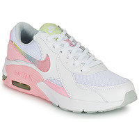 Schuhe Mädchen Sneaker Low Nike AIR MAX EXCEE GS Weiss / Rose
