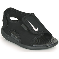 Schuhe Kinder Pantoletten Nike SUNRAY ADJUST 5 V2 TD Schwarz