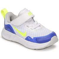 Schuhe Kinder Multisportschuhe Nike NIKE WEARALLDAY Weiss / Blau / Grün