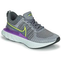 Schuhe Herren Laufschuhe Nike NIKE REACT INFINITY RUN FLYKNIT 2 Grau