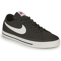 Schuhe Herren Sneaker Low Nike NIKE COURT LEGACY CANVAS Schwarz / Weiss