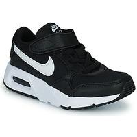Schuhe Kinder Sneaker Low Nike NIKE AIR MAX SC (PSV) Schwarz / Weiss