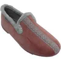 Schuhe Damen Hausschuhe Muro Geschlossene Frauenschuhe mit Ristrand M Rose