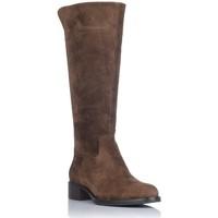 Schuhe Damen Klassische Stiefel Alpe 4235 Braun