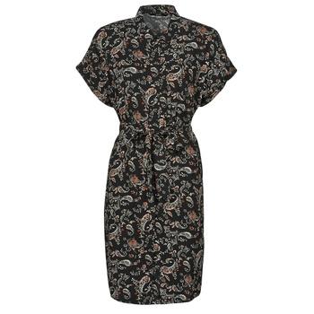 Kleidung Damen Kurze Kleider Vero Moda VMSIMPLY EASY Schwarz