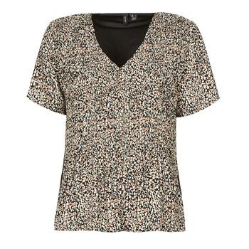 Kleidung Damen Tops / Blusen Vero Moda VMELIN Beige
