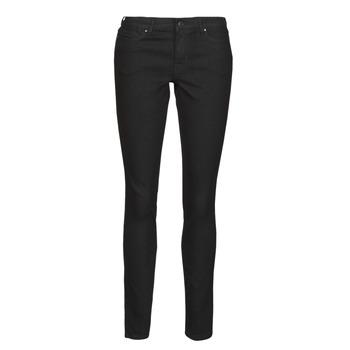 Kleidung Damen Slim Fit Jeans Vero Moda VMJUDY Schwarz