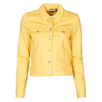 Kleidung Damen Jeansjacken Vero Moda VMHOTSOYA Gelb
