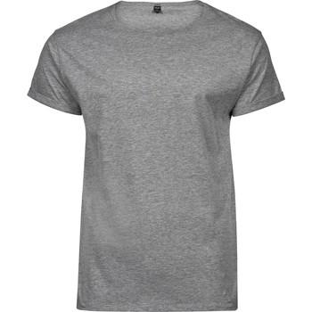 Kleidung Herren T-Shirts Tee Jays T5062 Grau meliert