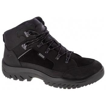 Schuhe Herren Wanderschuhe 4F Mens Trek Schwarz
