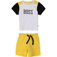 Kleidung Jungen Kleider & Outfits BOSS COLITA Multicolor
