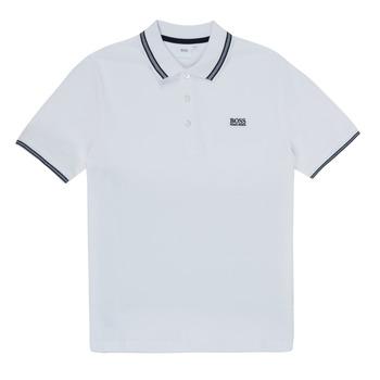Kleidung Jungen Polohemden BOSS TONNELA Weiss