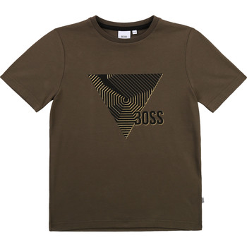 Kleidung Jungen T-Shirts BOSS J25L02-64C-J Kaki