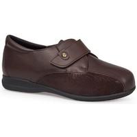 Schuhe Damen Derby-Schuhe & Richelieu Calzamedi SCHUHE  DIABETIC 0708 BROWN