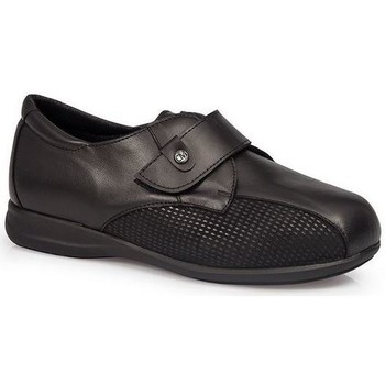 Schuhe Damen Derby-Schuhe & Richelieu Calzamedi SCHUHE  DIABETIC 0708 BLACK