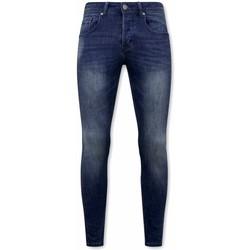 Kleidung Herren Slim Fit Jeans True Rise Jeans Stretch Blau