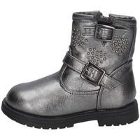 Schuhe Mädchen Ankle Boots Asso AG-9932 SILBER