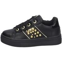 Schuhe Mädchen Sneaker Low Asso AG-8602 SCHWARZ