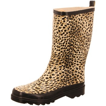 Schuhe Damen Boots Beck Stiefel Wildlife 892/50 animal