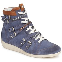 Schuhe Damen Sneaker High Janet Sport MARGOT ISABEL Blau