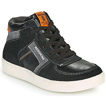 Schuhe Jungen Sneaker High Redskins LAVAL KID Schwarz / Anthrazit