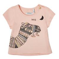 Kleidung Mädchen T-Shirts Ikks XS10100-32 Rose