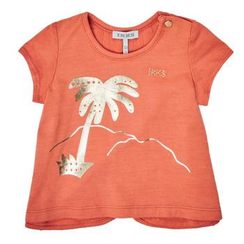 Kleidung Mädchen T-Shirts Ikks XS10080-67 Orange