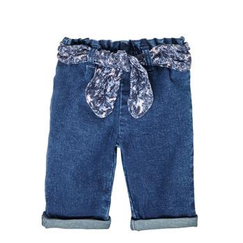 Kleidung Mädchen Straight Leg Jeans Ikks XS29000-86 Blau